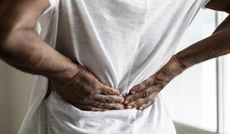 Getting rid of back and waist pain